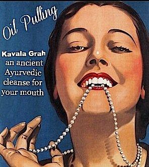 Уход за полостью рта oil pulling или аюрведа нам в помощь