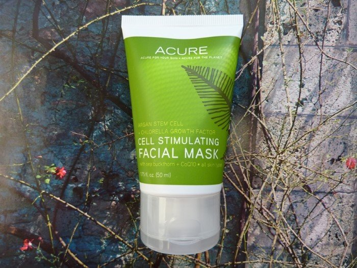 Мой обзор: Acure Organics Cell Stimulating Facial Mask