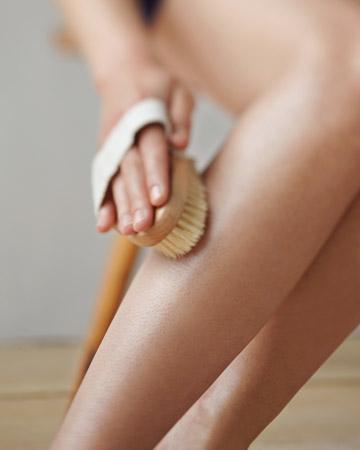 dry brushing 2