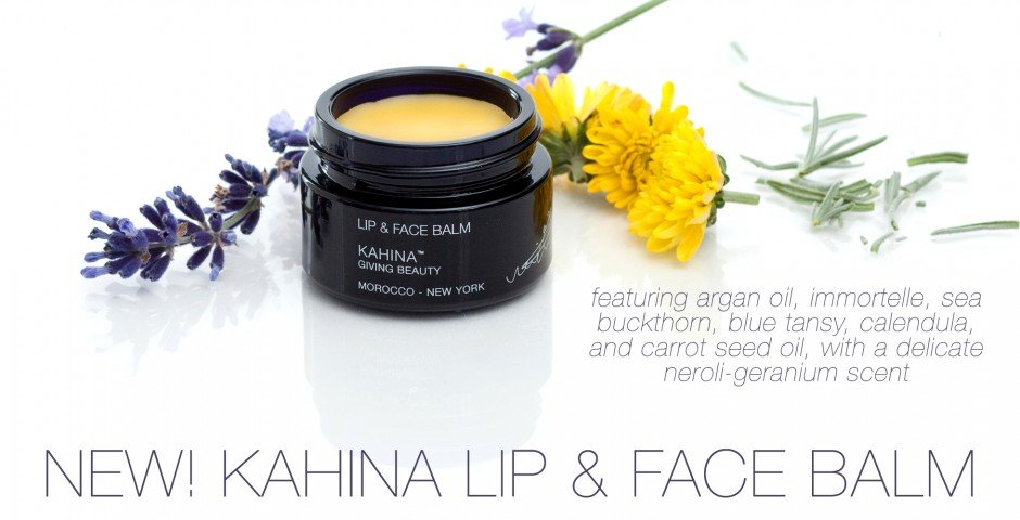 kahina lip and face balm