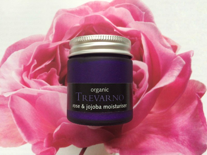 trevarno rose and jojoba moisturiser