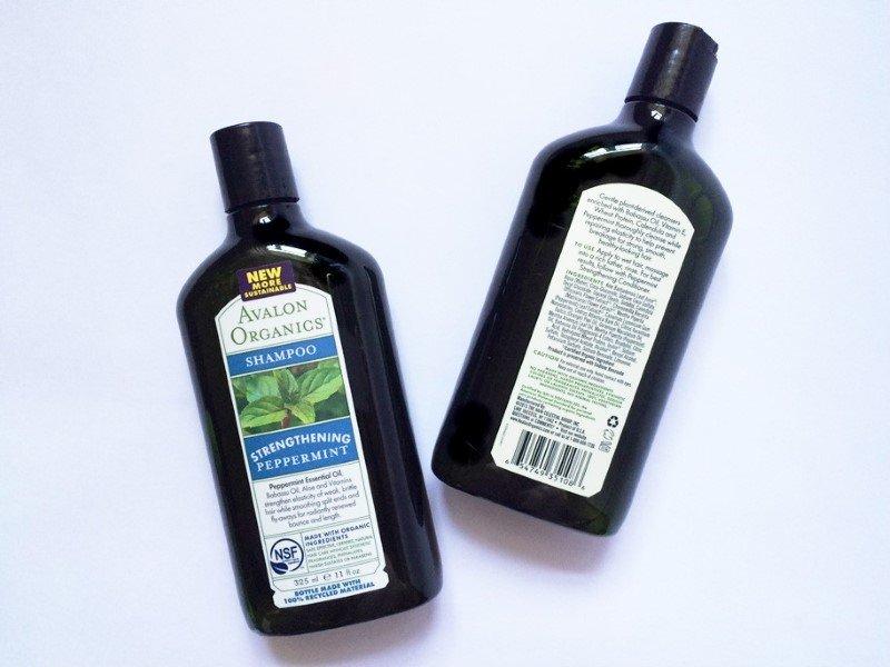 Мой обзор: шампунь Avalon Organics Strengthening Peppermint Shampoo