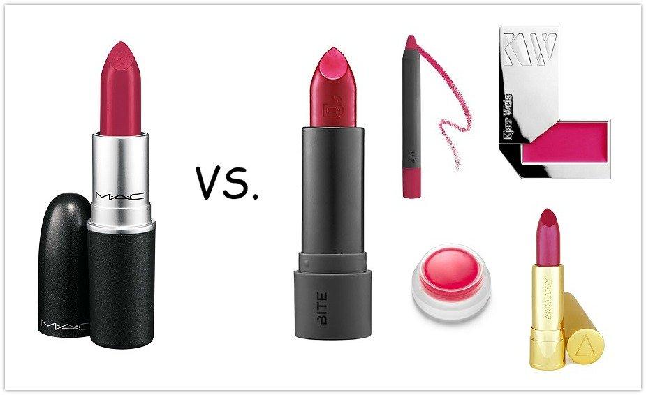 Натуральный ответ помаде MAC Retro Matte Lipstick