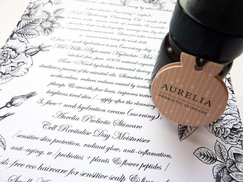 aurelia moisturizer