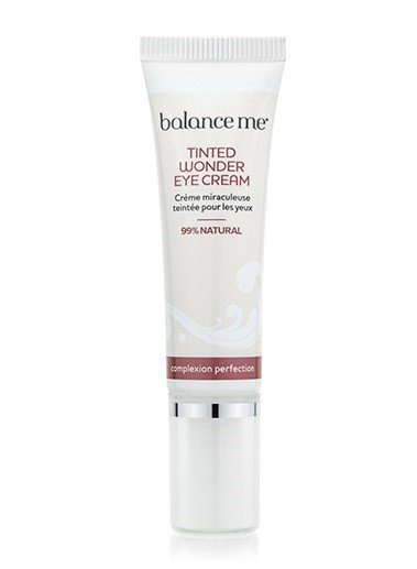 balance me tinted eye cream