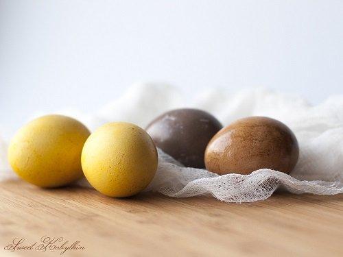 Мой опыт натурального окрашивания яиц на Пасху