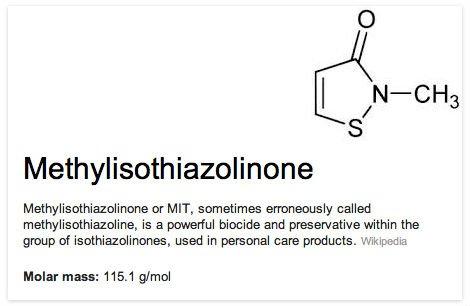 methylisothiazolinone