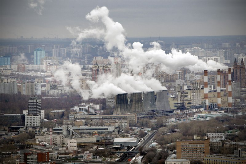 moscow pollution