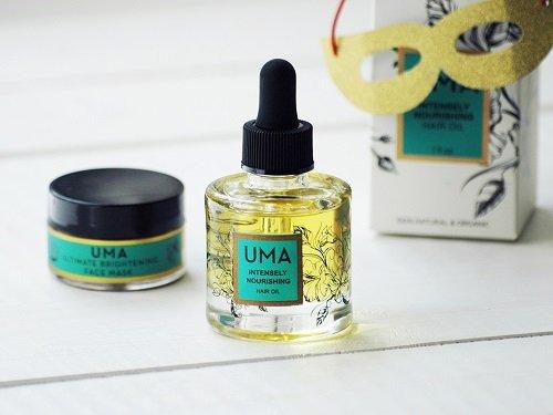 Сентябрьский бокс Beauty Heroes: масло для волос UMA Intensely Nourishing Hair Oil