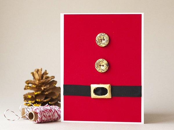 Подарок, который оценят: новогодняя открытка своими руками