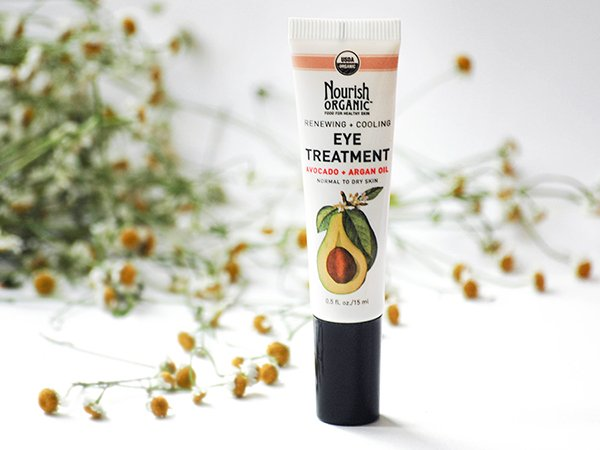 Мой отзыв: крем для глаз Nourish Organic Eye Treatment