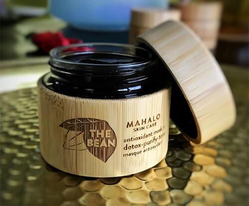 маска для лица с какао Mahalo The Bean