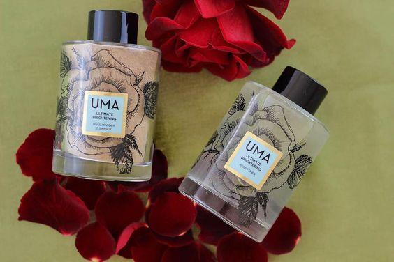 очищающая пудра и гидролат UMA