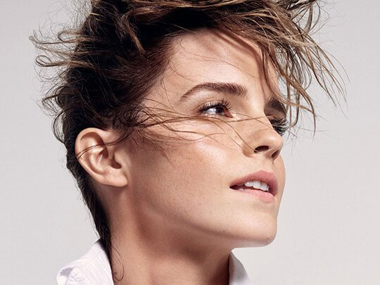 Наши люди в Голливуде: Эмма Уотсон выбирает натуральную красоту