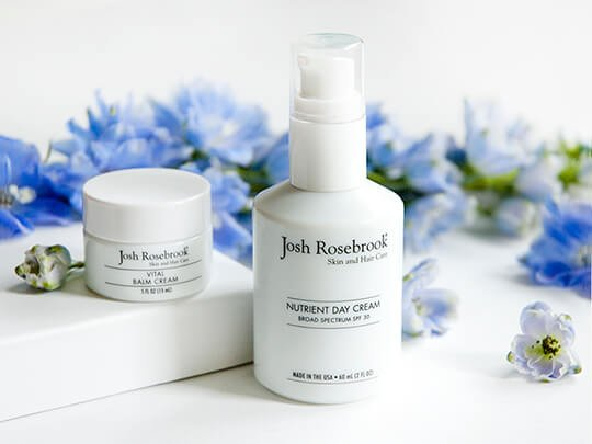 Отрада для лица от Josh Rosebrook: солнцезащитный крем Nutrient Day Cream и увлажнящий крем-бальзам Vital Balm Cream
