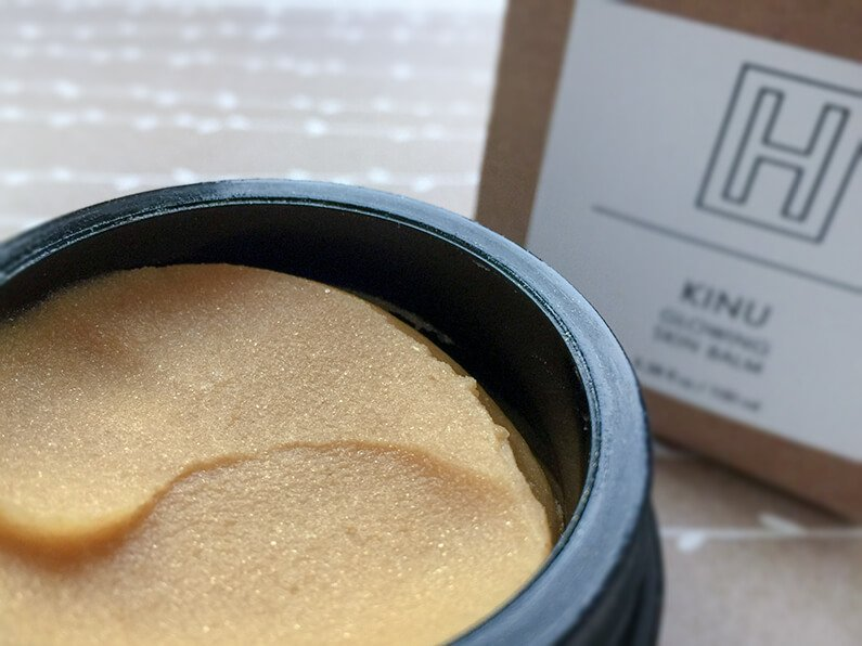 h is for love kinu skin balm