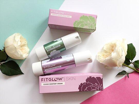 Знакомство с маркой Fitglow: два решения для чувствительной кожи Cloud Comfort Cream и Redness Rescue Cream
