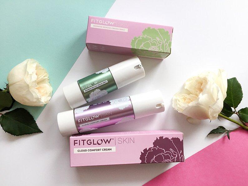 fitglow cloud comfort cream redness rescue cream