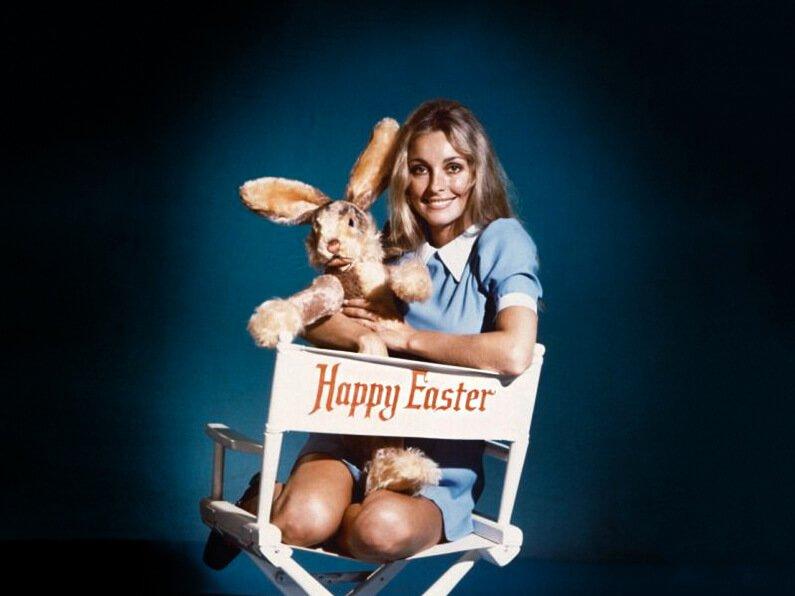 sharon tate easter bunny