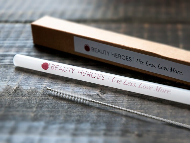 beauty heroes glass straw