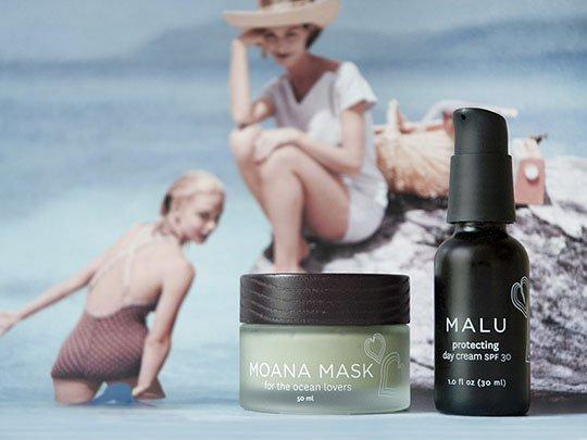Летние новинки Honua: защитный крем Malu SPF30 и маска для лица Moana Mask