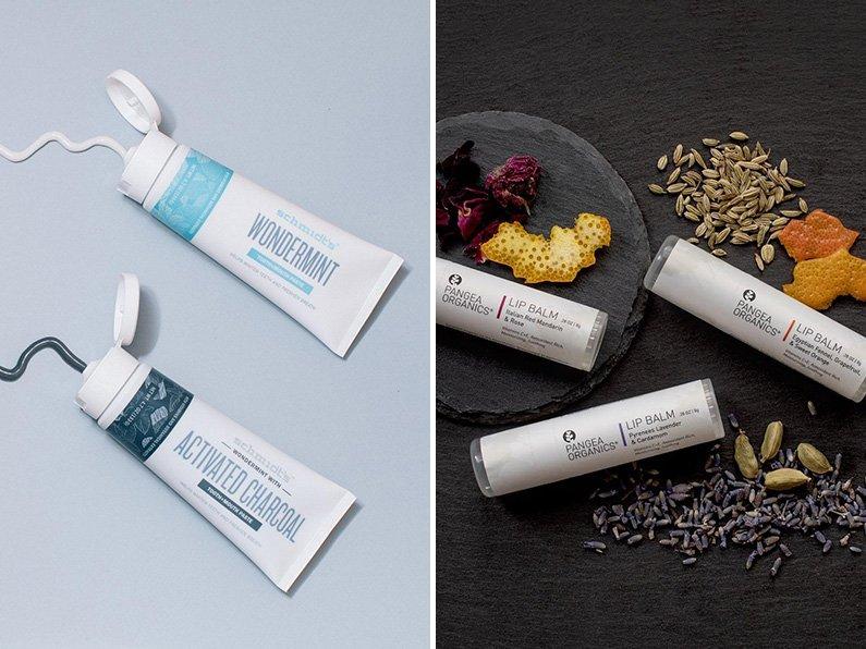 Schmidt's Toothpaste, Pangea Organics Lip Balm