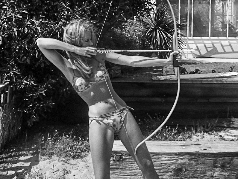 Jane Fonda by Dennis Hopper 1965