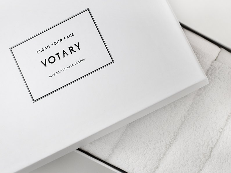 votary face cloth