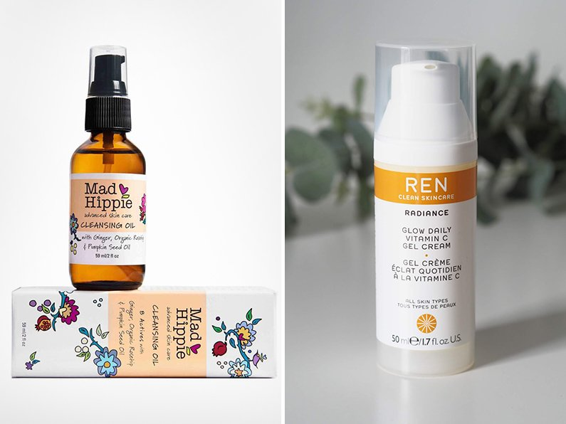 mad hippie cleansing oil ren glow daily