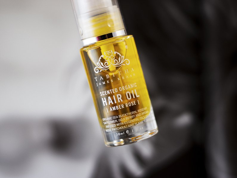 tabitha james kraan hair oil