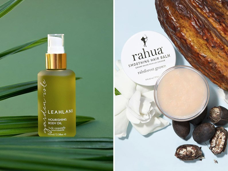 leahlani body oil rahua hail balm
