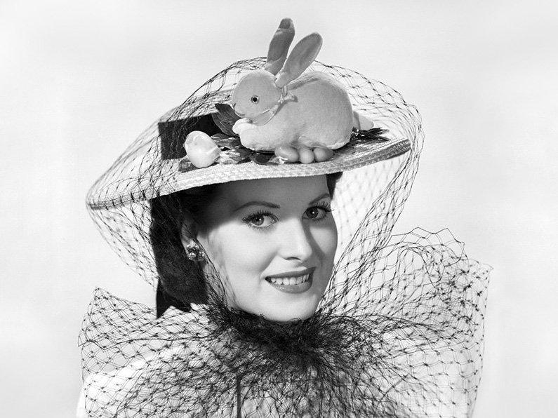 Maureen O'Hara easter