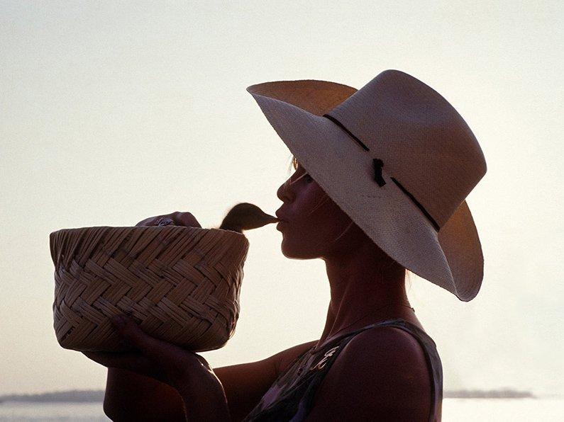 Bridgitte Bardot 'Bardot Kiss'